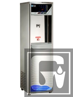智慧型語音滅菌純水飲水機       GE-RO807C  (溫熱) (白鐵外殼系列)