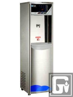 智慧型語音滅菌飲水機 GE-803C (冰溫熱) (白鐵外殼系列)