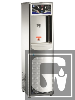 純水煮沸式飲水機 GE-RO105 (冰溫熱)(白鐵外殼系列)